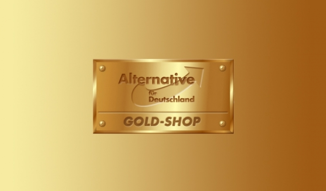 AfD Gold-Shop Logo