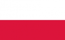 Nationalflagge von Polen