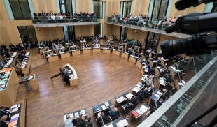 Bundesrat | Blick in den Plenarsaal